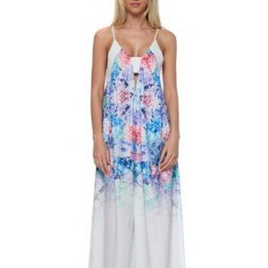 ASOS Ginger Fizz Maxi Dress With Ombre Print